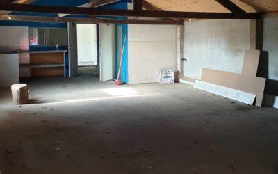 Na weken lang klussen ging gisteren dan eindelijk onze nieuwe workshopruimte open. Zoek de verschillen