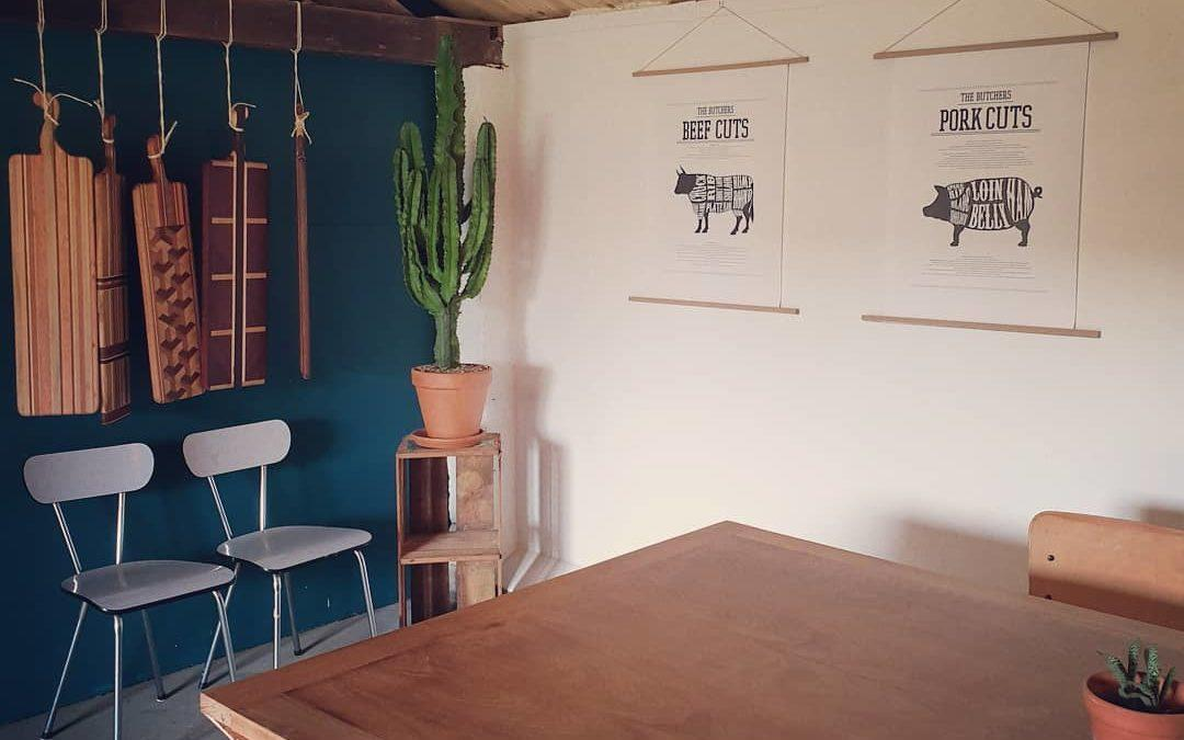 Dit weekend werd onze nieuwe ruimte meteen goed ingewijd met een paar mooie buitenkookworkshops. Vandaag een dagje rust en vooral genieten. Wat een topstek