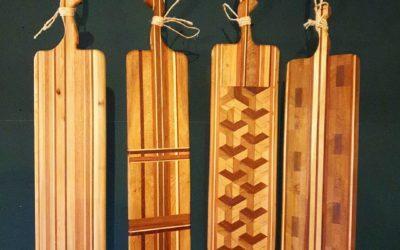 Unieke serveerplanken van circulair hout!